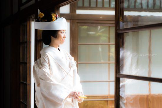 岐阜県岐阜市の結婚式場「伊奈波神社 水琴亭」で持ち込みカメラマンとして結婚式の写真撮影