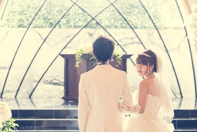 愛知県小牧市の結婚式場「アンジェリーナスウィート」で持ち込みカメラマンとして結婚式の写真撮影