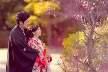 名古屋市熱田区にあります「白鳥庭園」さんにて結婚式の写真撮影