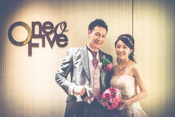 名古屋市の高級ホテルのうちの一つ「ヒルトン名古屋」さんにて結婚式の写真撮影