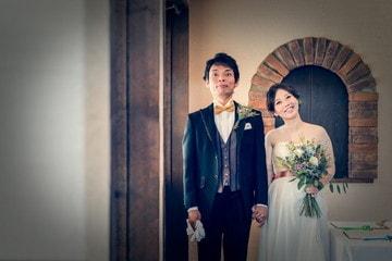 三重県津市のレストラン「トラットリアカパーチェ」さんにて結婚式の写真撮影