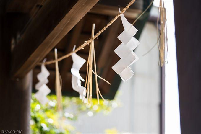 神社では必ずお目にかかる「紙垂」