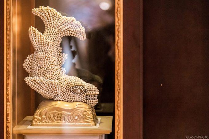 名古屋城のシンボルでもあるシャチホコが真珠で着飾ってる?