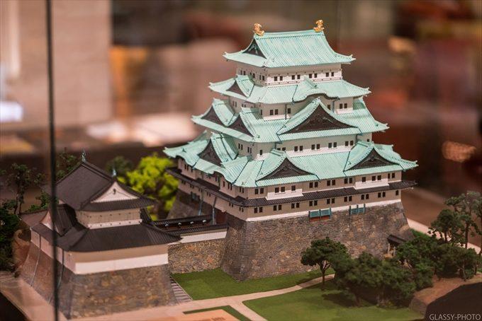 名古屋城の模型も飾ってありました