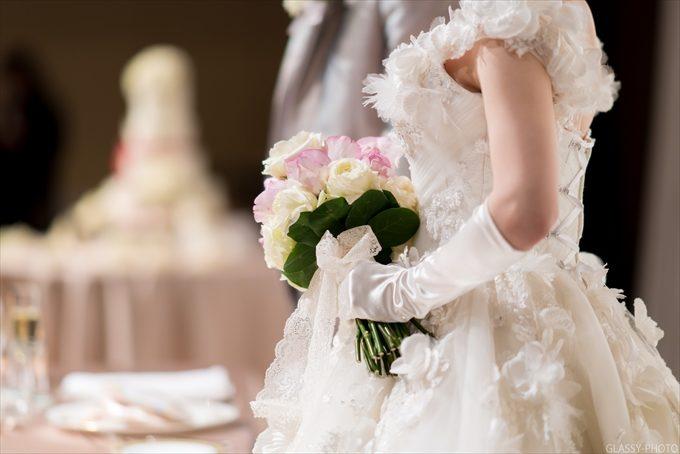 姿勢がいい花嫁さんはより美しく見えるものです
