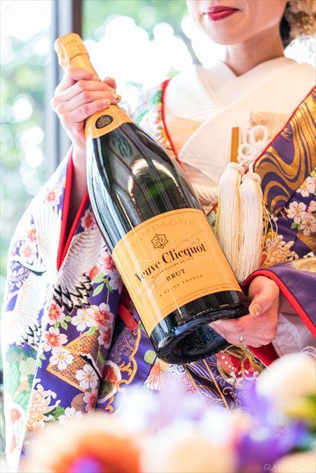 花嫁さんが新郎さんにプレゼントされたお酒