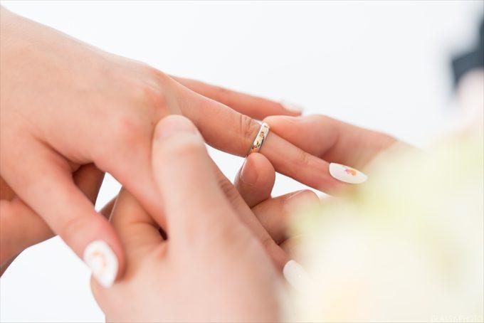 リハーサルでは指輪交換時の手元のアップ写真も撮りたい!