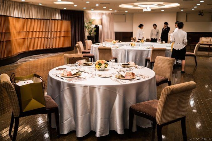 お食事会会場は3階フロアにあります和会場「ピアフェリオ」