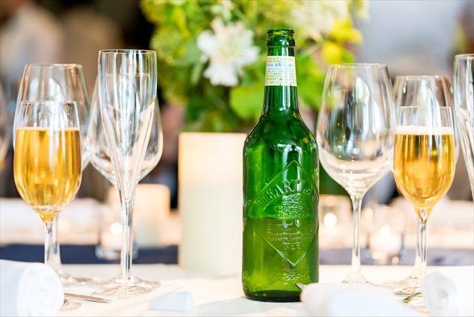 ナンザンハウスさんの緑瓶のビールはいつもおいしそうです(゚0゚)