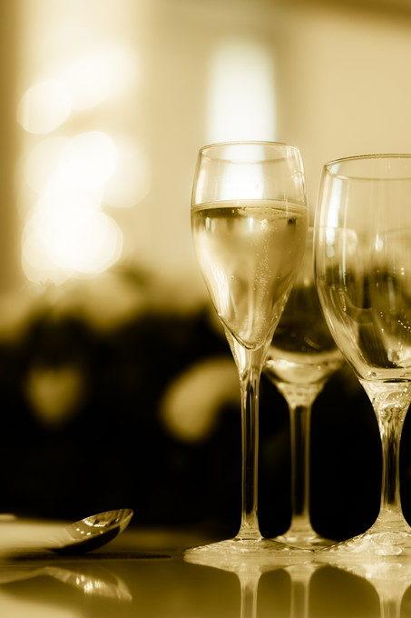 パーティといったら乾杯ですからね 乾杯グラスもきれいに撮りたいのです