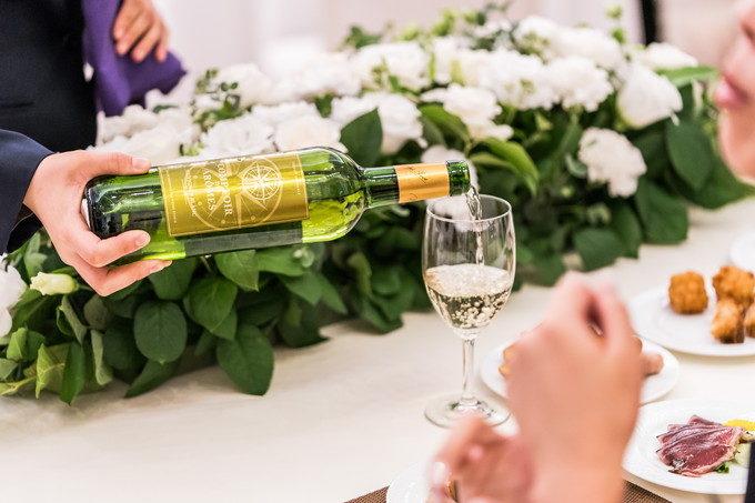 二次会ではコントワール・デ・ザロームというワインで乾杯しました