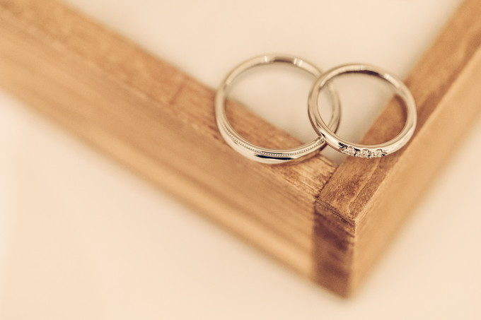 上から見るとこんな感じ 大事な結婚指輪を運びだしたくないのでこれが限界