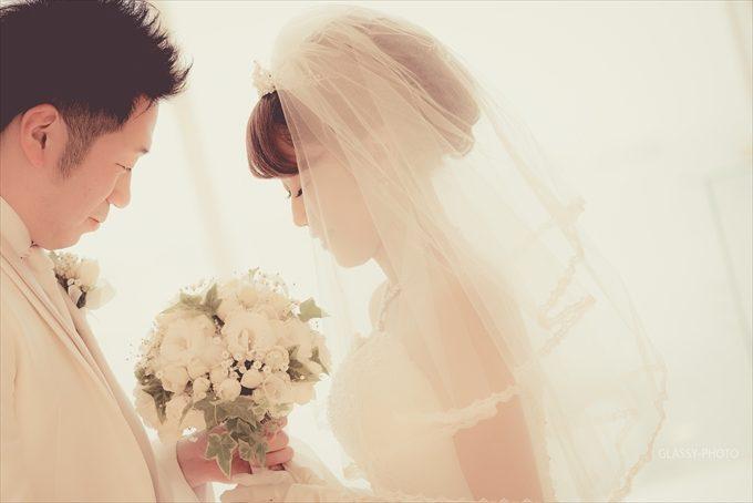 カメラマンとしては花嫁写真を撮る際にこの光の当たり方をとにかく気にします