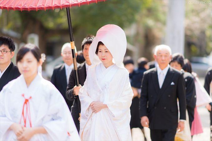 花嫁行列が始まりました