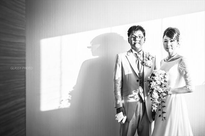 お二人のポーズ写真を撮らせていただきました