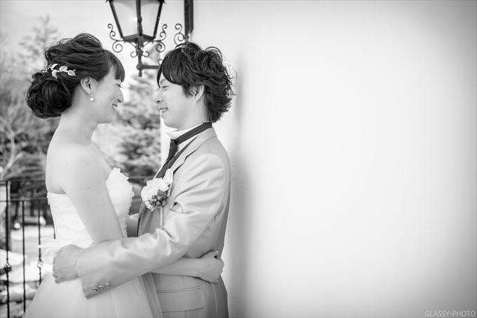 お二人のポーズ写真もお撮りしました!