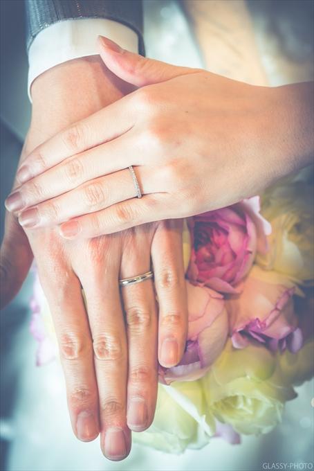 指輪を写真に撮りました