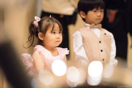 かわいらしいベールガールちゃん グランドティアラ GRAND TIARA 愛知県 安城市 結婚式 写真 カメラマン