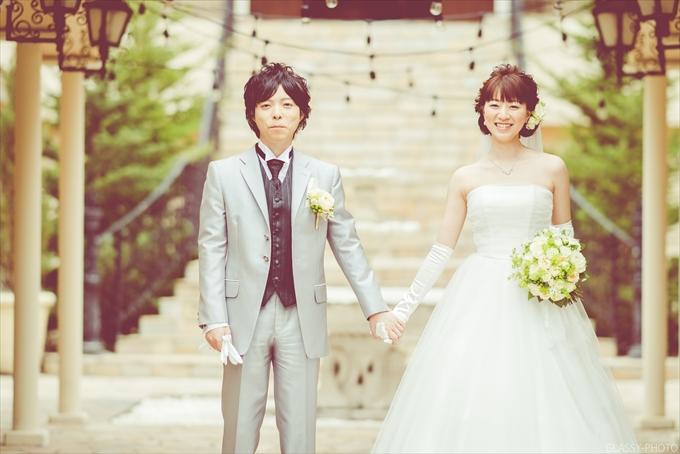 素敵なお二人の素敵な結婚式の写真撮影をさせていただきました