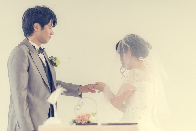 花嫁さんから新郎さんへ