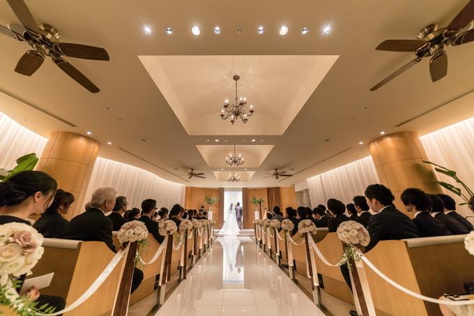 ANAクラウンプラザホテルグランコート名古屋のチャペル全景