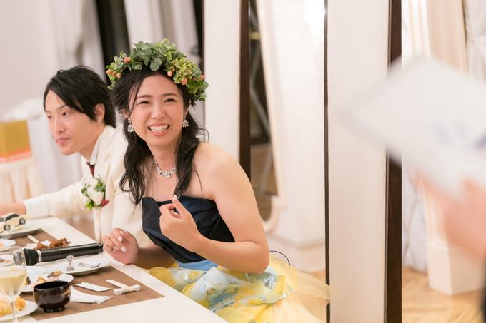 ゲームに楽しそうな花嫁