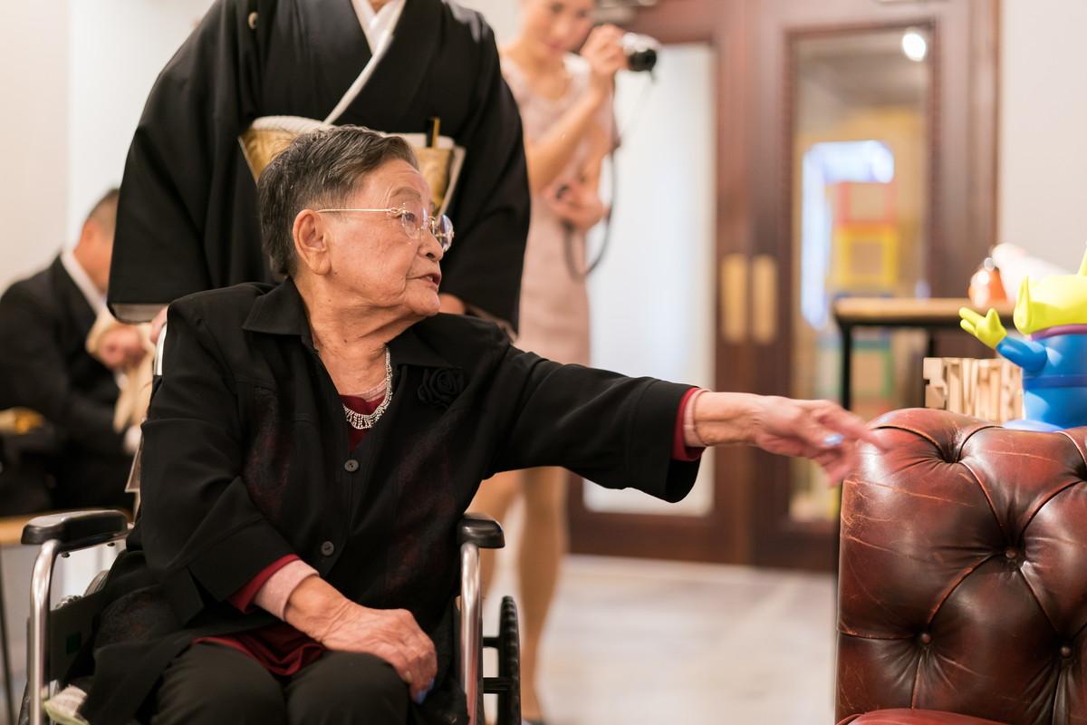 孫の結婚式に出席できるのは何よりの幸せ
