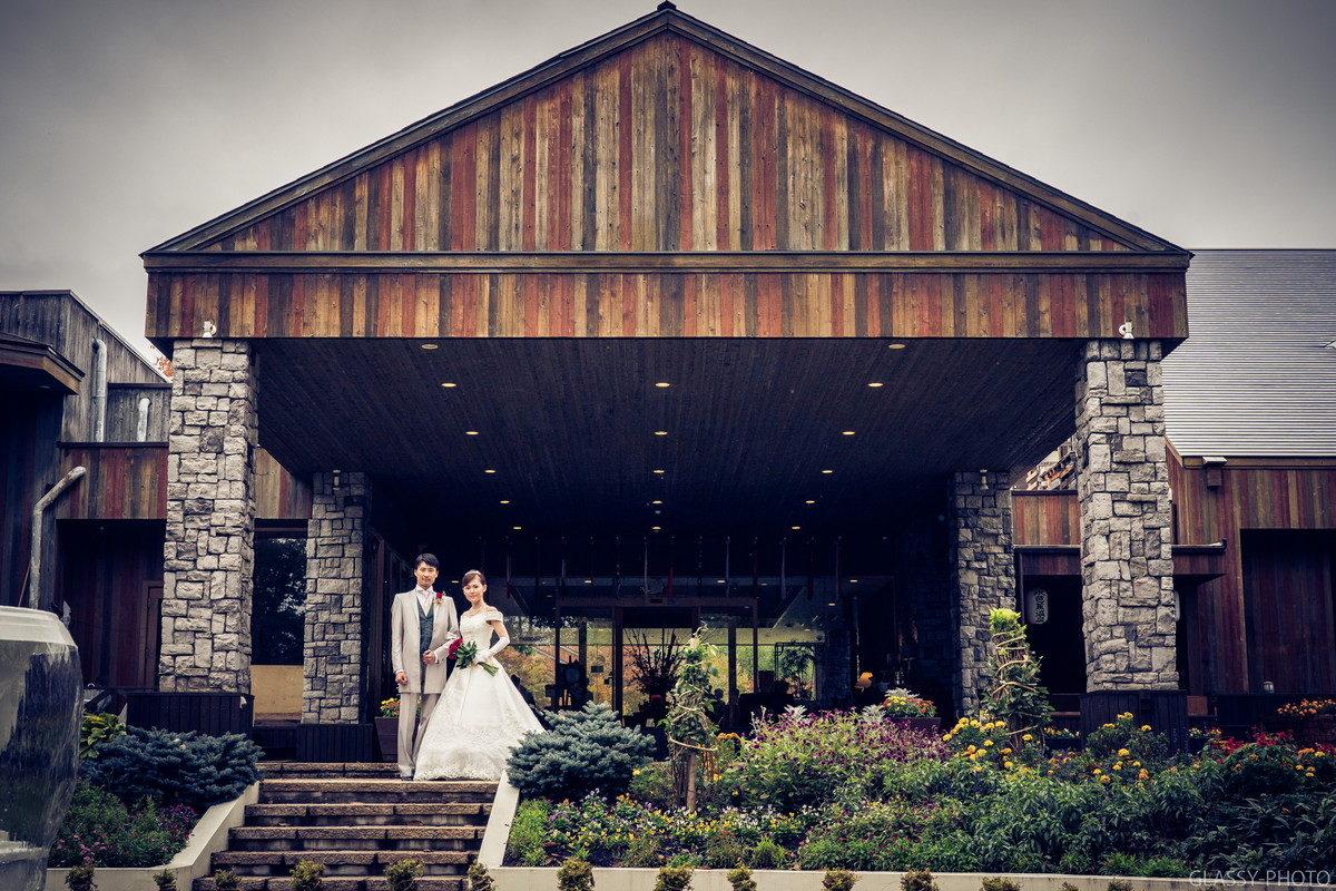 「ホテルシェラリゾート白馬」さんがすごく素敵な結婚式場だったんです